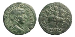 Ancient Coins - Thrace, Hadrianopolis, Gordian III, AD 238-244, AE26