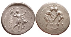 Ancient Coins - Pamphylia, Aspendos 370-250 BC, AR Stater