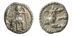 Ancient Coins - Cilicia, Laranda, ca 3rd Century BC, AR Obol