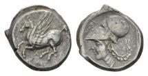 Ancient Coins - Acarnania, Argos Amphilochium. 350-300 BC, AR Stater