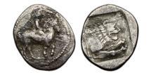 Ancient Coins - Macedonian Kingdom, Perdiccas II 451-413 BC, AR Tetrobol