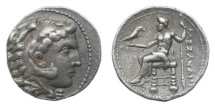 Ancient Coins - Macedonian Kingdom, Alexander III (the Great), 336-323 BC, AR Tetradrachm