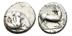 Ancient Coins - Cilicia, Kelenderis, 380-370 BC, AR Stater
