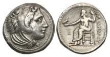 Ancient Coins - Macedon, Alexander the Great, 336-323 BC, AR Tetradrachm