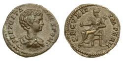 Ancient Coins - Roman Empire, Geta, 198-209 AD, AE18