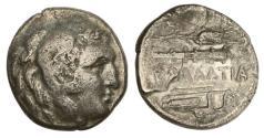 Ancient Coins - Kallatis, Moesia, ca 250 BC, AR Drachm