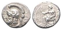 Ancient Coins - Cilicia, Tarsos, Pharnabazos, 379-374 BC, AR Stater