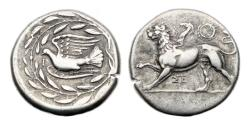 Ancient Coins - Sikyon, 360-330 BC, AR Stater