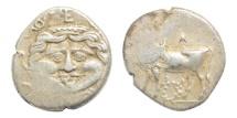Ancient Coins - Parion, Myzia, 350-300 BC, AR Hemidrachm