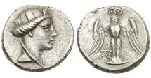Ancient Coins - Pontos, Amisos. Ca 4th Century BC, AR Siglos