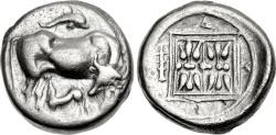 Ancient Coins - Illyria, Dyrrhachion. Ca 340-280 BC, AR Stater
