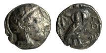 Ancient Coins - Athens, Attica, 449-404 BC, AR Tetradrachm
