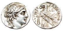Ancient Coins - Selucid Kingdom. Antiochos VII Euergetes, 138Ð129 BC AR Tetradrachm