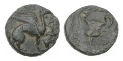 Ancient Coins - Teos, Ionia, 370-330 BC, AE 12