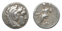 Ancient Coins - Macedon, Alexander III (the Great), 336-323 BC, AR Drachm