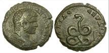 Ancient Coins - Thrace, Serdica, Caracalla, AD 198-217, AE 28