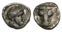 Ancient Coins - Phokis, Federal coinage, 357-346 BC, AR Triobol