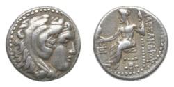 Ancient Coins - Macedon, Alexander III (the Great), 336-323 BC, AR Drachm
