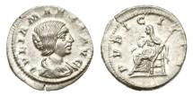 Ancient Coins - Roman Empire, Julia Maesa, Died 225 AD, AR Denarius
