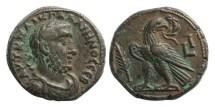 Ancient Coins - Roman Egypt, Gallienus, 253-260 AD, Billon Tetradrachm
