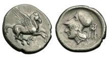Ancient Coins - Akarnania, Anactorium, 350-300 BC, AR Stater