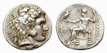 Ancient Coins - Macedonia, Alexander III (the Great), 336-323 BC, AR Tetradrachm