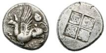 Ancient Coins - Thrace, Abdera, 473-449 BC, AR Tetradrachm
