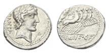 Ancient Coins - Roman Republic, C Zibius CF Pansa 90 BC AR Denarius