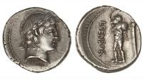 Ancient Coins - Roman Republic, L Marcius Censorinus, 82 BC, AR Denarius