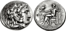 Ancient Coins - Seleukid Kingdom, Seleukos I Nikator, 312-280 BC, AR Tetradrachm