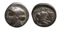 Ancient Coins - Ionia, Magnesia. 350-190 BC, AE12