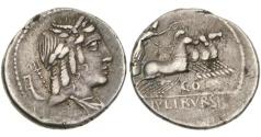 Ancient Coins - Roman Republic, L Julius Bursio, 85 BC, AR Denarius