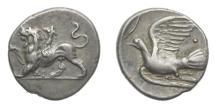 Ancient Coins - Sikyon 360-330 BC AR Hemidrachm