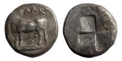 Ancient Coins - Kalchedon, Bithynia, 340-320 BC, AR Half Siglos
