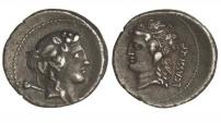 Ancient Coins - Roman Republic, L Cassius Qf Longinus, 78 BC, AR Denarius