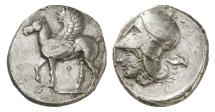 Ancient Coins - Corinth, 400-345 BC, AR Stater