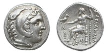 Ancient Coins - Macedon, Alexander III (the Great), 336-323 BC, AR Tetradrachm