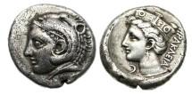 Ancient Coins - Bithynia, Herakelia, 350-330 BC, AR Tetradrachm