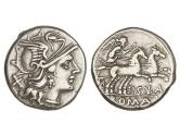 Ancient Coins - Roman Republic, P Cornelius Sulla, 151 BC, AR Denarius