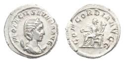 Ancient Coins - Roman Empire, Otacilia Severa, AD 244-249, AR Antoninianus