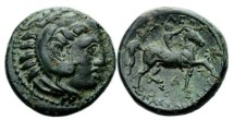 Ancient Coins - Macedon, Kassander, 305-297 BC, AE 20