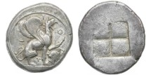 Ancient Coins - Teos, Ionia, 478-465 BC, AR Stater