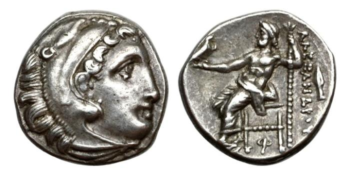 Ancient Coins - Macedonia, Alexander III (the Great), 336-323 BC, AR Drachm