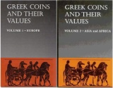 Ancient Coins - Sears, Greek Coins and their Values, Volume 1 and 2