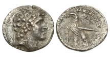 Ancient Coins - Seleukid Kings of Syria, Alexander I Balas, 150/9 BC, AR Tetradrachm