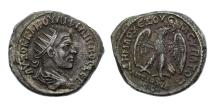 Ancient Coins - Syria, Seleucis and Pieria. Antioch, Philip I, 244-249 AD, Billon Tetradrachm