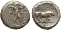Ancient Coins - Lucania, Poseidonia