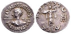 Ancient Coins - Indo-Greek, Menander I Soter.