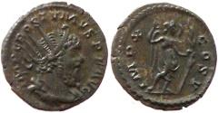 Ancient Coins - Postumus, usurper in Gaul. 269 AD.