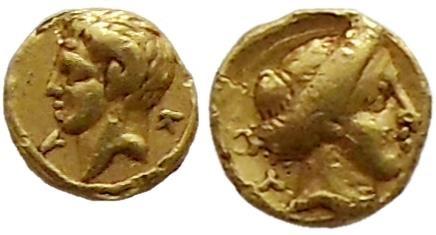 Ancient Coins - Kyrenaica, Kyrene. 322-313 BC.